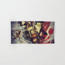 Attack on titan Shingeki no kyojin 進撃の巨人 Classic T-Shirt 14035 Hand & Bath Towel