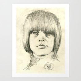 Club 27, Brian Jones Art Print