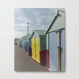 colorful huts Metal Print