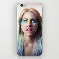 grease iPhone & iPod Skins featuring Glitter and grease. by Chiara Lanciotti