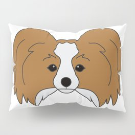 Papillon Dog #society6 #decor #buyart #artprint Pillow Sham