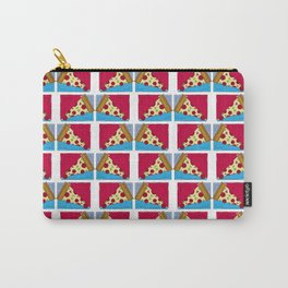 Geometric Pizza Carry-All Pouch