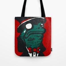 Duke Croakington Tote Bag
