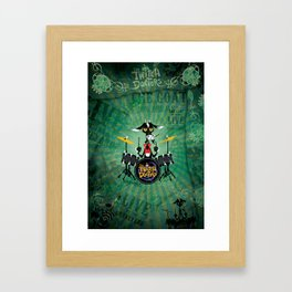 The Goat - Drums. The Twitch Doctors Framed Art Print