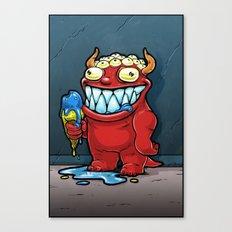 Monster No. 1 Canvas Print