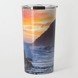A sunset view in the Tsitsikamma Nature Reserve - Landscape view Travel Mug