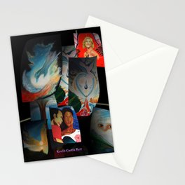 KEVIN CURTIS BARR 'S ART POSTERS Stationery Cards