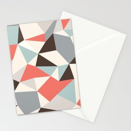 Mod Hues Tris Stationery Cards
