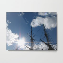 Salem Wooden ship Metal Print