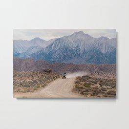 Dirt Road Travels Metal Print