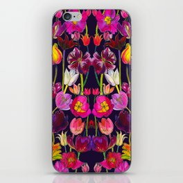 Pink and Orange Tulips iPhone Skin