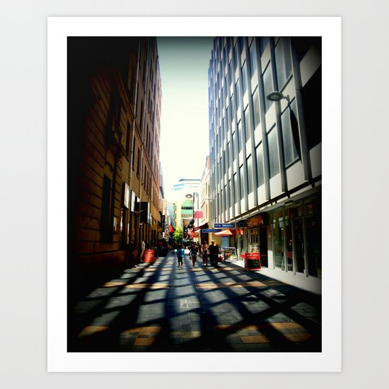 Australian Capital Cities - Adelaide - South Australia Art Print