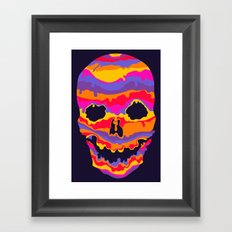 Melting Inside Framed Art Print