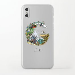 Studio Ghibli Clear iPhone Case