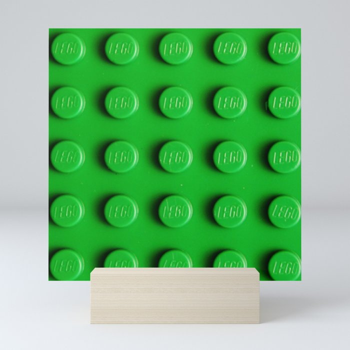 Green Block Mini Art Print