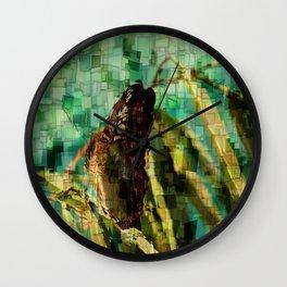 Fjäril Wall Clock