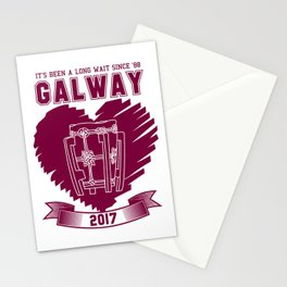 All Ireland Senior Hurling Champions: Galway (White/Maroon) Stationery Cards
