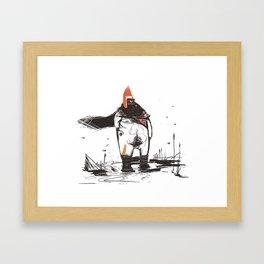 REDHAT Framed Art Print
