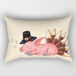 Turkey Coma Rectangular Pillow