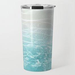 Soft Blue Gray Ocean Dream #1 #water #decor #art #society6 Travel Mug
