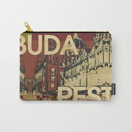 BUDA & PEST Carry-All Pouch