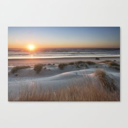 South Jetty Beach Sunset, No. 3 Canvas Print