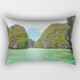 Paradise landscape El Nido Palawan Philippines Rectangular Pillow