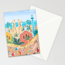Barcelona, Spain Stationery Cards