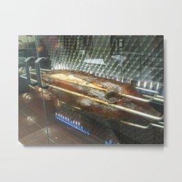 Roast Pig Metal Print