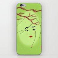 mulan iPhone & iPod Skins featuring Mulan by Tiffany Taimoorazy
