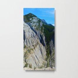 Morrow Canyon in Jasper National Park, Canada Metal Print