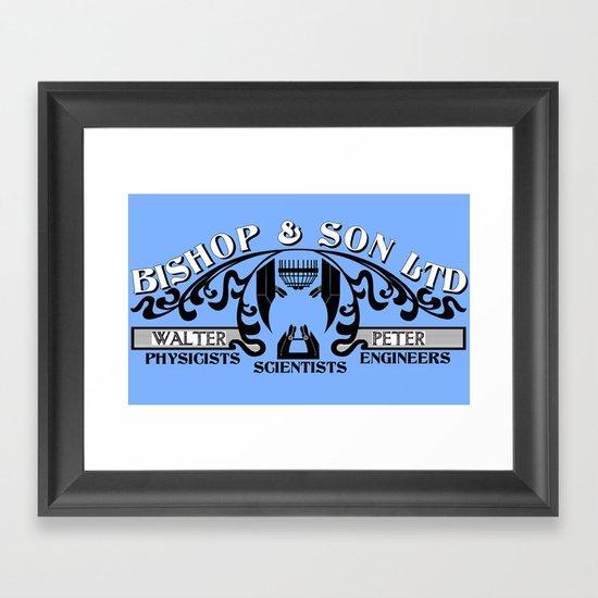 Bishop & Son Ltd Framed Art Print