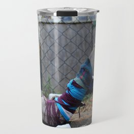 Stiletto Cocoon With Chainlink Fence, No. 1 Travel Mug