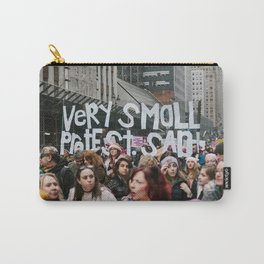 A Very Small Protest. Carry-All Pouch