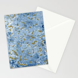 Gold sea II Stationery Cards