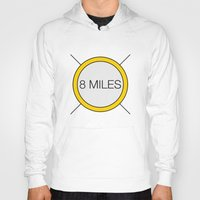 miles davis Hoodies featuring 8 miles by Thomas Official