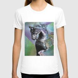 Carousel Horse By Annie Zeno T-shirt