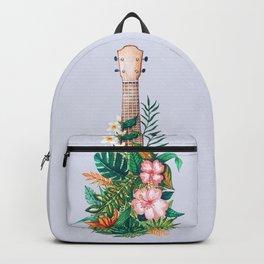 Tropical Ukulele Backpack