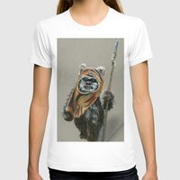 ewok T-shirts featuring Ewok by Sam Luotonen