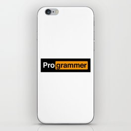 Programmer iPhone Skin