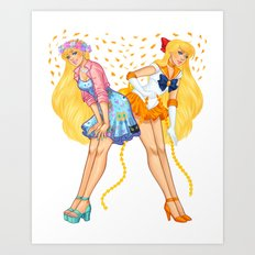 Sailor Venus Art Print