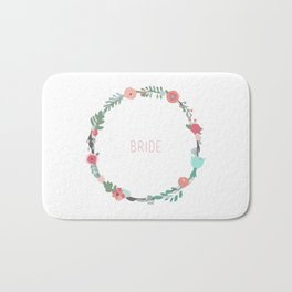 Bride To Be Bath Mat