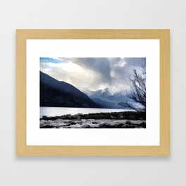 Majestic Mountains Framed Art Print