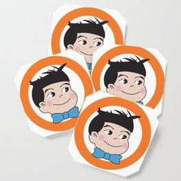 Mabo in ring of orange Coaster