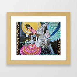 Little Village Dreaming Framed Art Print