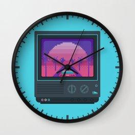 Nostalgia trip Wall Clock