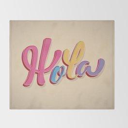 Hola Throw Blanket