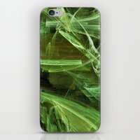 lime green iPhone & iPod Skins featuring Lime by Shalisa Photography