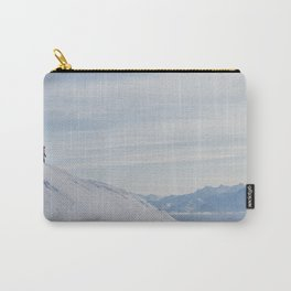 Skiers at Hatcher Pass Carry-All Pouch