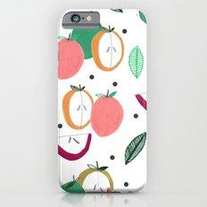 Apple print. illustration, art, print, design, pattern, fruit, food, fun, print design iPhone 6s Slim Case